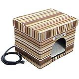 """Milliard Wide Heated Pet Cube Ottoman 17""""x13""""x13"""""""