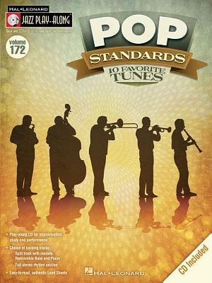[(Jazz Play-Along: Volume 172: Pop Standards - 10 Favorite Tunes)] [Author: Hal Leonard Publishing Corporation] published on (October, 2013) ()