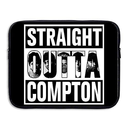 Gameser N.W.A West Coast Hip Hop Group Straight Outta Compton Water-resistant Tablet Sleeve Cover Bag Size 13 Inch