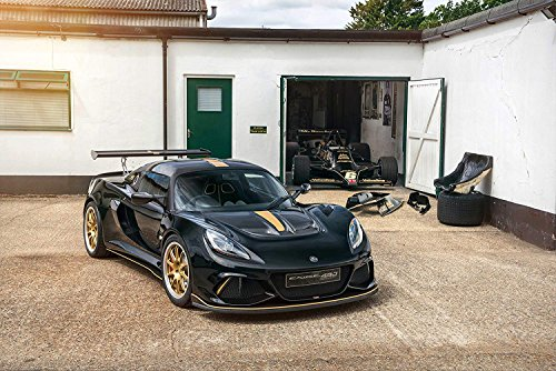 "Lotus Exige Cup 430""Type 79"" UK Spec  Car Print on 10 Mil Ar"