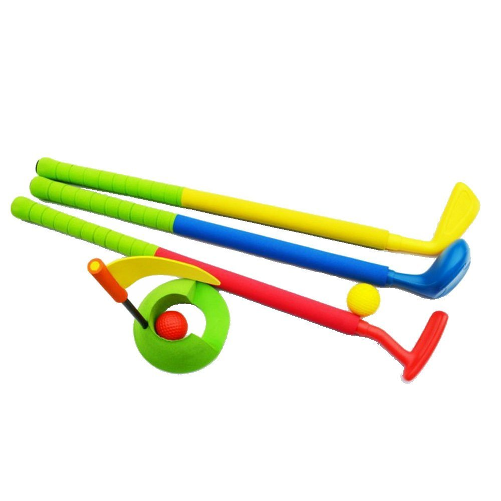 Toddler Golf Toys Easy Hit Safety NBR Rubber Fitness For Kids From FJTANG B00UYJYQ8E