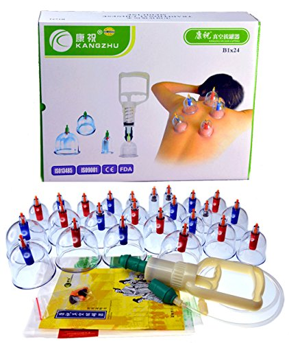 Kangzhu-24-Cup-Biomagnetic-Chinese-Cupping-Therapy-Set