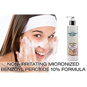 Extra Strength Benzoyl Peroxide 10% Acne Cleanser for Face & Body by Beauty Facial Extreme.