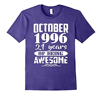 October 1996 - 21th Birthday Gifts Funny Tshirt