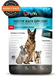 Petvi all natural probiotic PLUS hip & joint nutritional supplement, gives your dog a shinier coat, healthier skin, a strong immune system and helps with digestion and joint related problems.