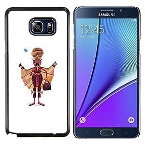 """Be-Star Único Patrón Plástico Duro Fundas Cover Cubre Hard Case Cover Para Samsung Galaxy Note5 / N920 ( Sikh Hombre Arte Dibujo India sijismo Vestimenta"""" )"""