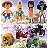 One Piece the Movie World Collectible Figure ~ Strong World ~ ver.5 all eight set