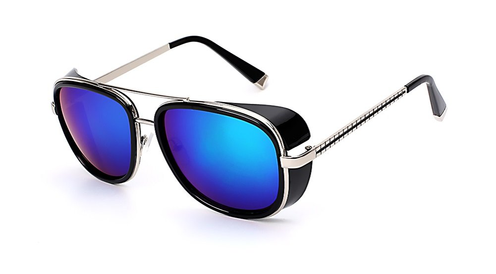 Square Sunglasses Men Brand Designer Sunglass Vintage Retro Superstar Fashion Glasses Oculos UV400 by Blue Berry Cheese