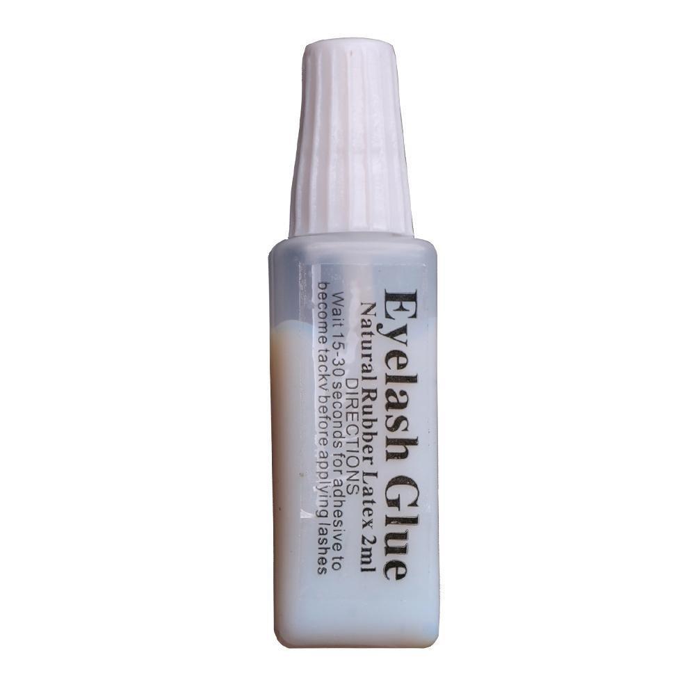 Gracefulvara 5PCS Long Lasting False Eyelash Glue Quick Drying Adhesive Double Eyelid Glue Makeup