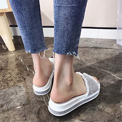 De Femmes YUCH Plage Chaussures pour White an4nfwxq5