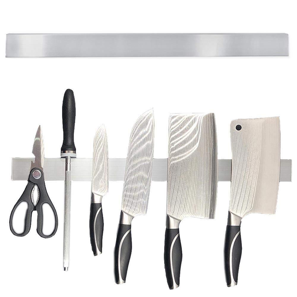 FOONEE 20 Inch Magnetic Knife Strip 304 Stainless Steel Magnetic Knife Holder Knife Rack for Knives, Scissors, Tools, Keys and More by FOONEE