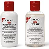 Cremo Cream Face Wash(6fl.oz.) + Cremo Cream Face Moisturizer(4.4fl.oz)(pack of 2)