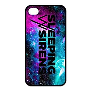 Customized Sirens Rubber Back Protector Cover Case for iPhone 4 4s TPU
