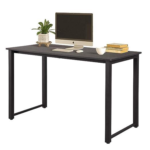 Hommoo - Mesa de escritorio para ordenador de 47 pulgadas, moderna ...