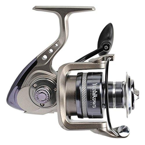 Yoshikawa Workhorse YG Spinning Reel Saltwater Fishing 11 Bearings Enhanced Stainless Steel Shaft Blade Thin Body 500 to 6000 Freshwater