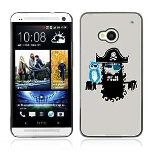 YOYOSHOP [Cool Pirate Artwork] HTC One M7 Case
