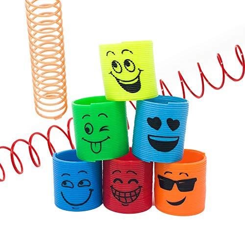 Spring Toy - 50 Piece Emoji Magic Spring Toy