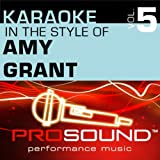 Father's Eyes (Karaoke Instrumental Track)[In the style of Amy Grant]