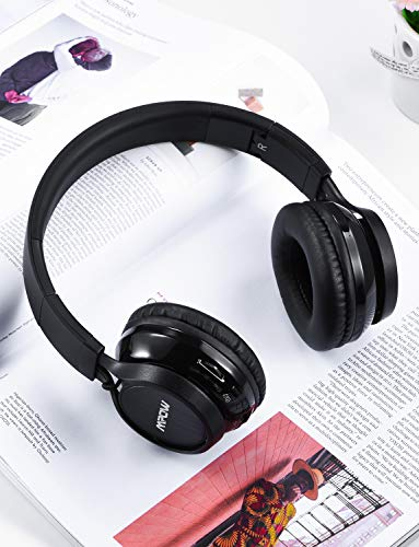 0615205e592 ... Mpow Thor Bluetooth Headphones On Ear, Hi-Fi Stereo Wireless Headset  Foldable with Mic ...