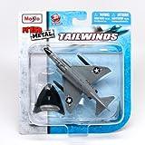 F-4 Phantom II Supersonic Jet Interceptor (US Navy / USS Saratoga) * Tailwinds * 2011 Maisto Fresh Metal Series Die-Cast Vehicle Collection