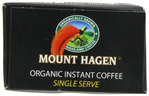 Mount Hagen Organic Instant Regular Coffee, 25-Count Single Serve packets (Pack of 4) by Mount Hagen (Image #4)