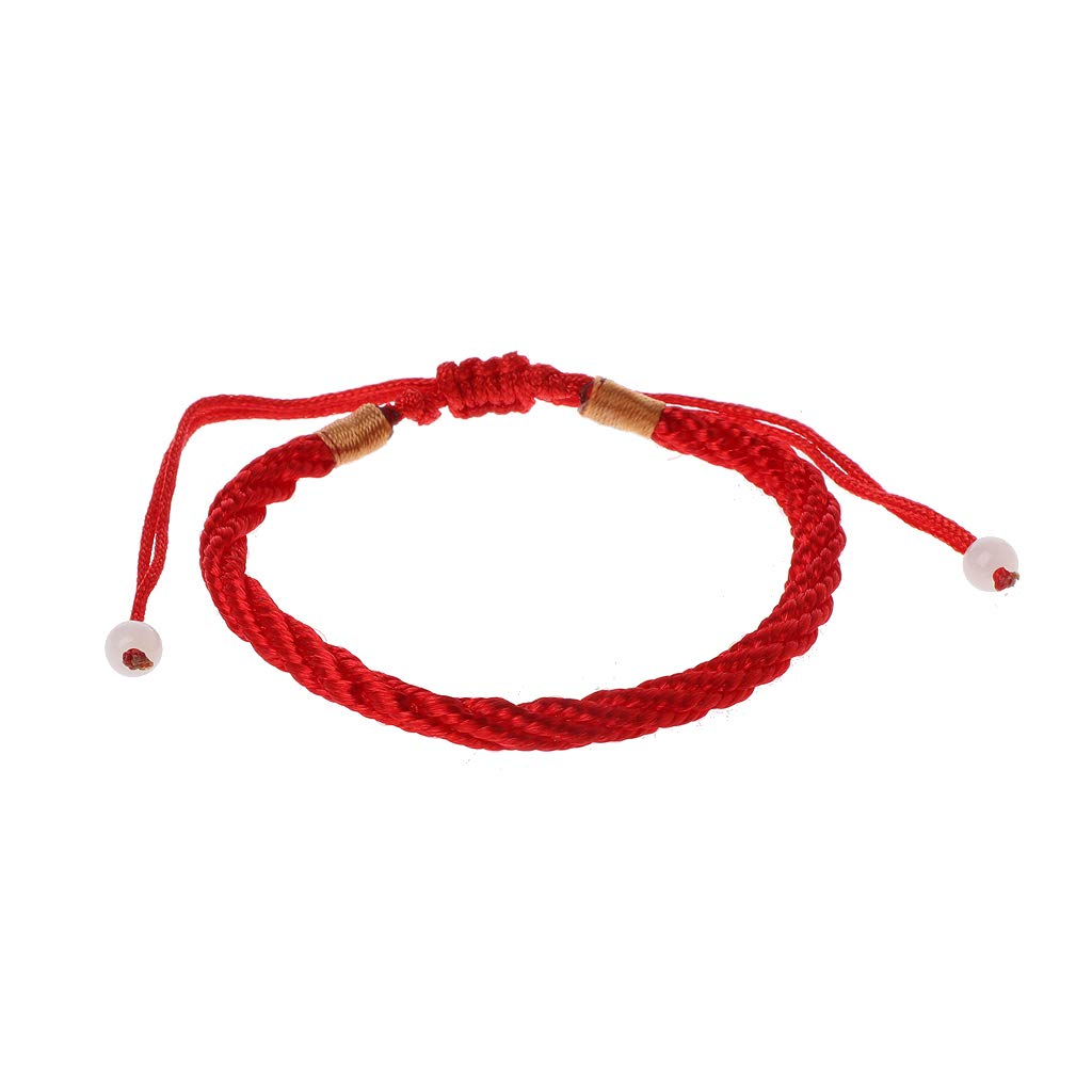 Doiber Handmade Kabbalah Red String Good Luck Bracelet for Prosperity and Success