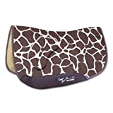 Professionals Choice 28X30 Equine Smx Air-Ride Orthosport Barrel Saddle Pad (Giraffe)