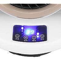 Mini aquecedor, aquecedor elétrico de controle remoto para plugue UE 220V 50Hz