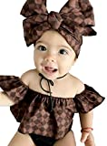 Best off baby - GRNSHTS Baby Girls Lattice Off Shoulder Short Outfits Review