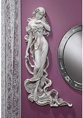 Design Toscano Flora Goddess of Springtime Wall Sculpture