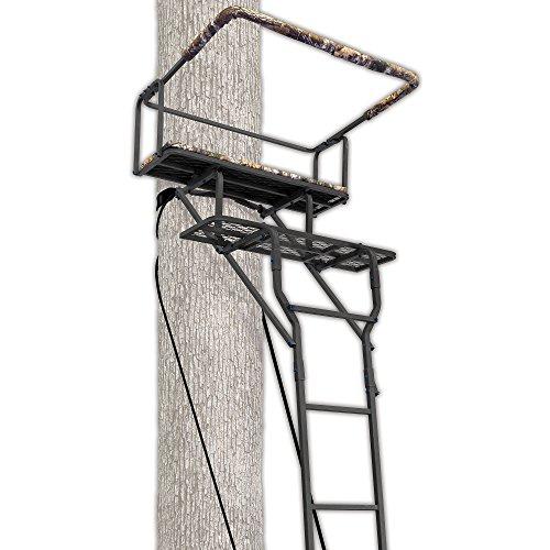 Ameristep 1539; Two-Man Ladderstand w/ RealTree AP Seat
