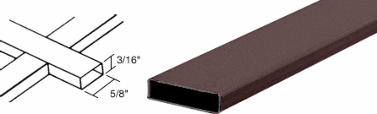 CRL Bronze 3/16'' x 5/8'' Muntin Bar - 36012BRZ