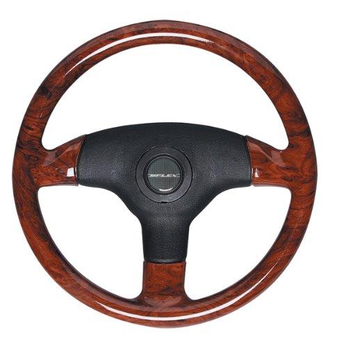 Uflex V61B  Antigua Burlwood Steering Wheel