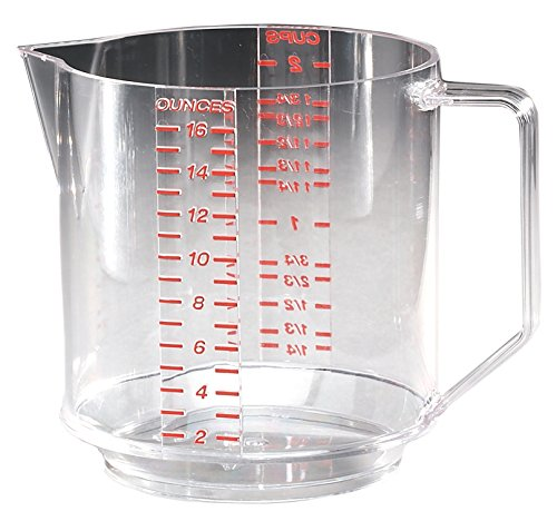 plastic 2 cup measuring cup - 4