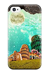 Durable Protector Case Cover With Artistic Abstract Artistic Hot Design For Iphone 4/4s