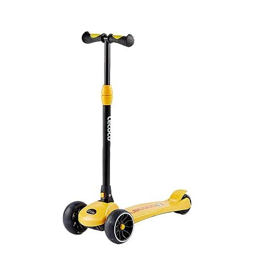 XUEYING-KickScooter Patinete Scooter para niños de 3-6 años ...