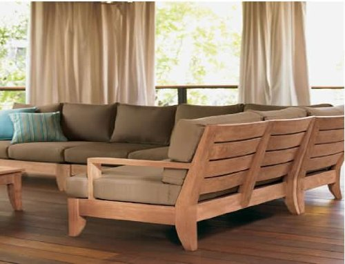 Atnas-Grade-A-Teak-Wood-Luxurious-5pc-Sectional-Sofa-Set-Collection-2-Sofas-Left-Right-1-Lounge-Armless-Chair-1-Corner-Piece-1-Coffee-Table-Furniture-Cushions-Sold-Separately-Choose-correct-option-bef