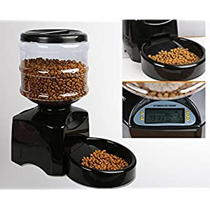 Automatic Cat Feeder Dog Feeder with Digital Display Timer for Feeding Animals Click on image for further info.