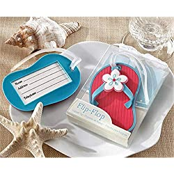 "Wedding/Birthdays Favors Sandals""Flip Flop"" Luggage Tag/Favors set of 10"