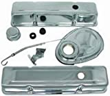 Racing Power Company R3024 Engine Dress-Up Kit with Tall Valve Cover for Small Block Chevy