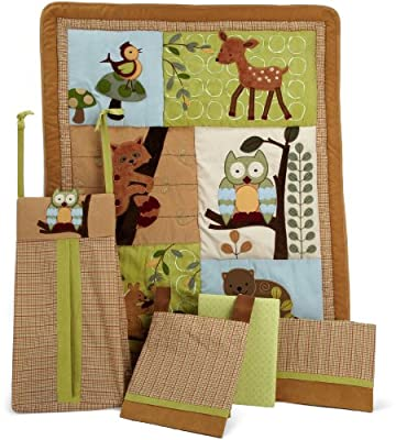 Lambs Ivy 5 Piece Bedding Set Enchanted Forest by Lambs & Ivy
