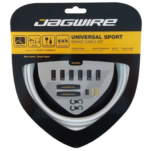 Jagwire Universal Sport Brake Kit, White