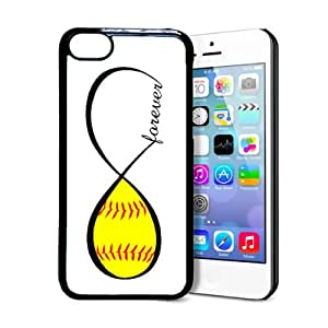 SudysAccessories Softball Forever Softball Infinity Forever Thinshell Case Protective iPhone 5C Case