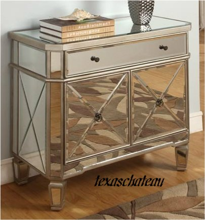 mirrored sideboard table mirrored mirror furniture dresser buffet cabinet chest 4166