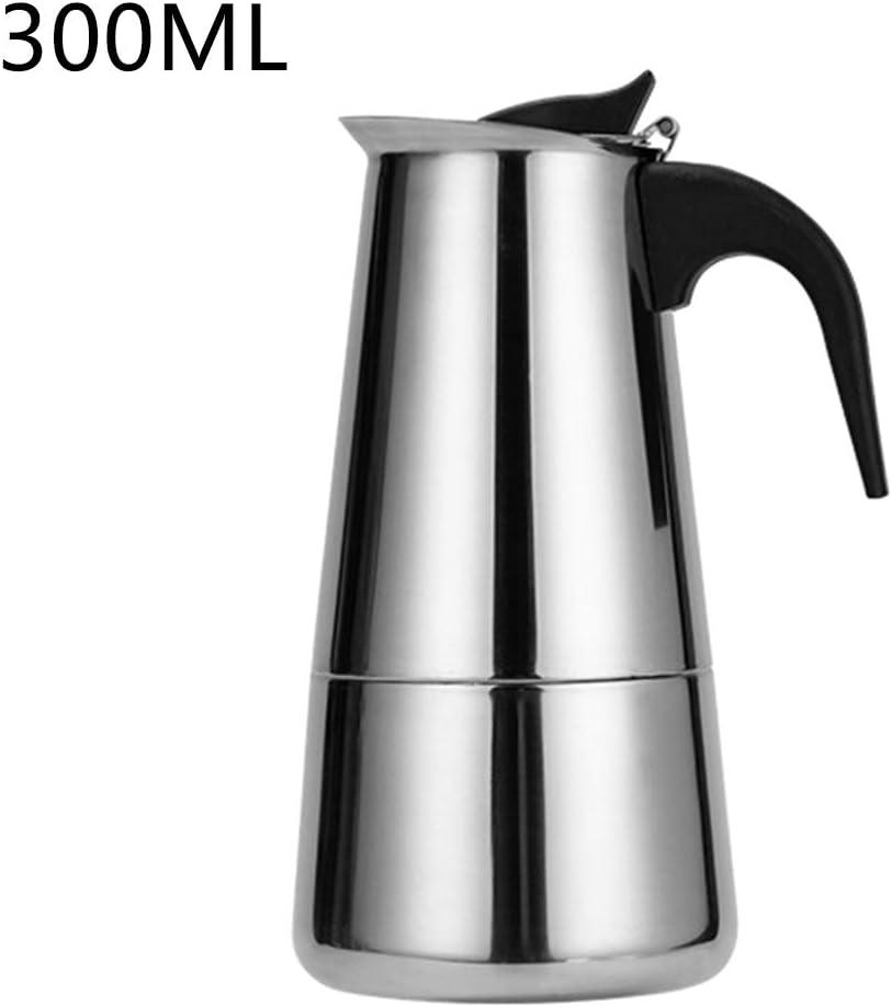 Angelliu - Jarra de café portátil de Acero Inoxidable, 100 ml/200 ...