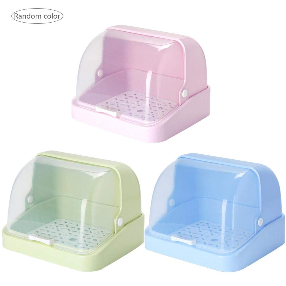 激安の Nifera フードポーチ ベビーボトルストレージボックス 食品安全 子供/幼児用ボトル フードポーチ ベビーフードジャーストレージオーガナイザー Nifera123 ベビーテーブルウェアボックス B07KYP8HCN 防塵カバー乾燥ラック付き Color box,L Nifera123 Color box,L ランダムカラー B07KYP8HCN, インスピレーション:49776521 --- arianechie.dominiotemporario.com