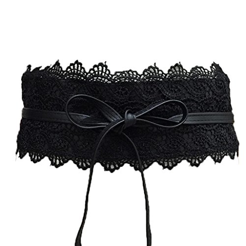 Black Lace Belt - 4