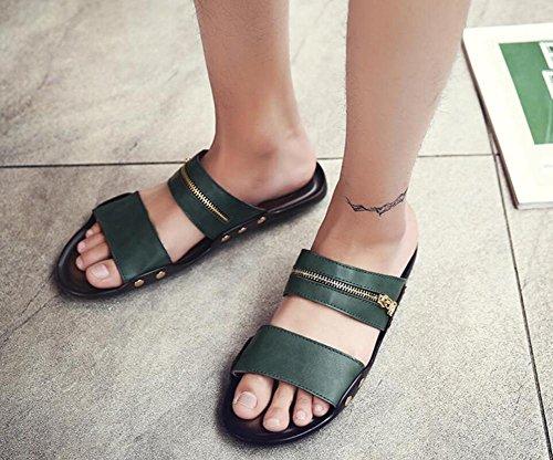 Estate nuova tendenza della parola uomini di trascinamento spiaggia di spiaggia scarpe casual scarpe da uomo , 4 , 39