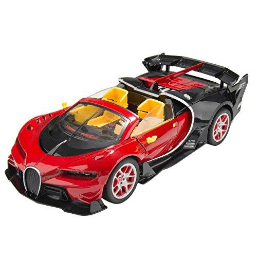 KING Red Remote Control Ferrari Sports ()