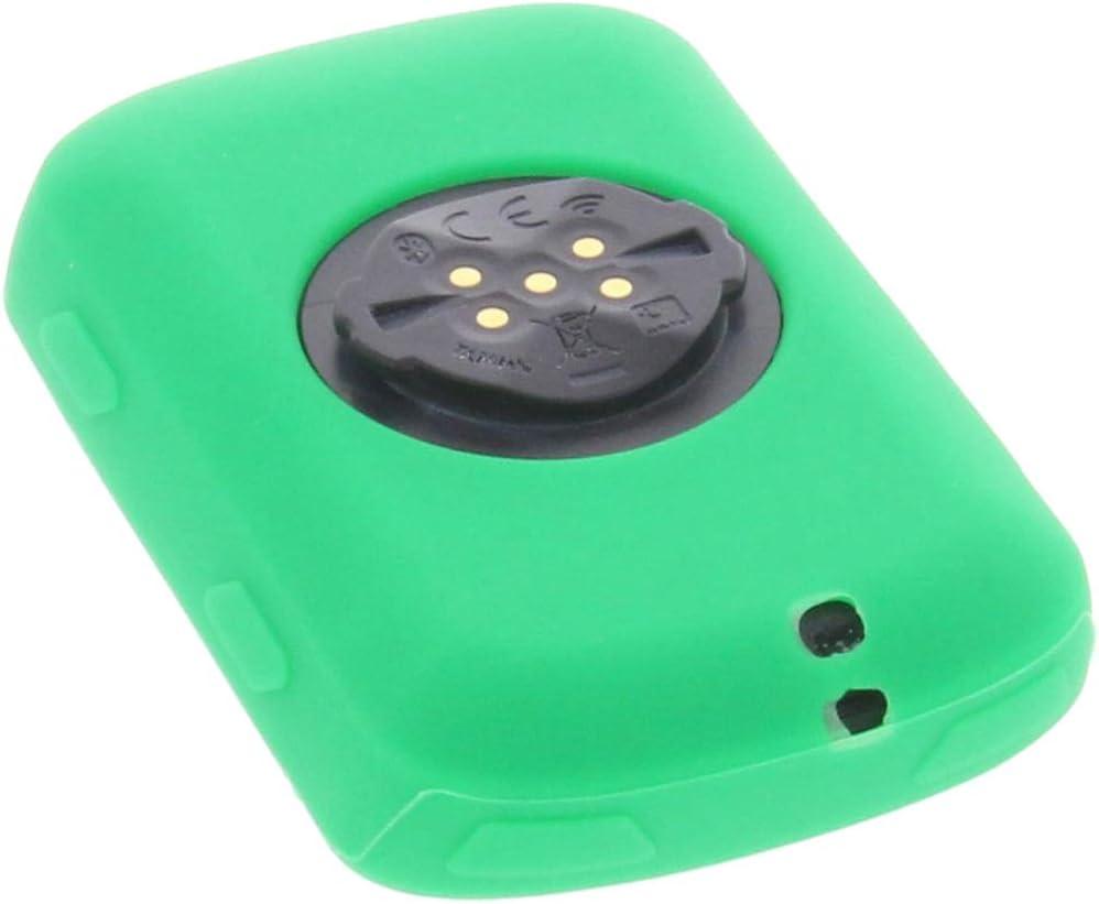 foto-kontor Funda para Garmin Edge 530 Protectora Silicona Carcasa protecci/ón Blanca